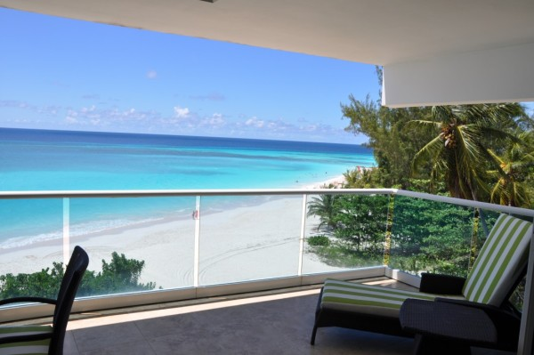 gorgeous view from the balcony