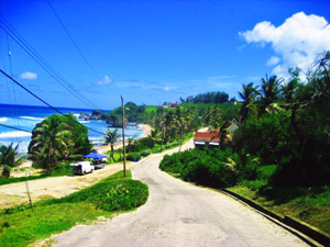 drive around barbados with a car rental from Top Class